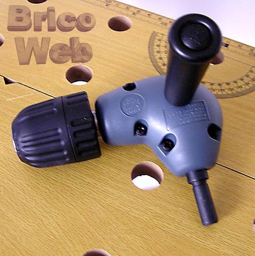Adaptador angular para taladro bricoweb - Accesorios para taladro ...