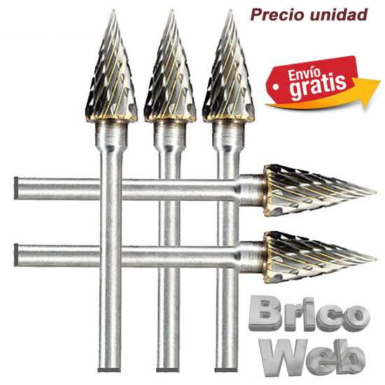 .BROCA FRESADORA CARBURO DE TUNGSTENO 06