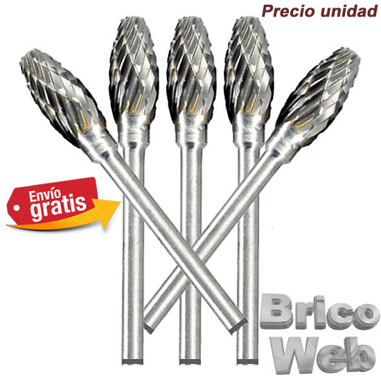 .BROCA FRESADORA CARBURO DE TUNGSTENO 07