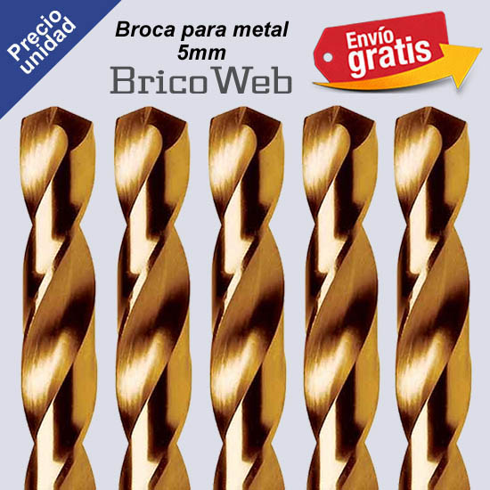 BROCA PARA METAL 05mm