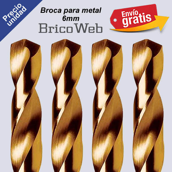 BROCA PARA METAL 06mm