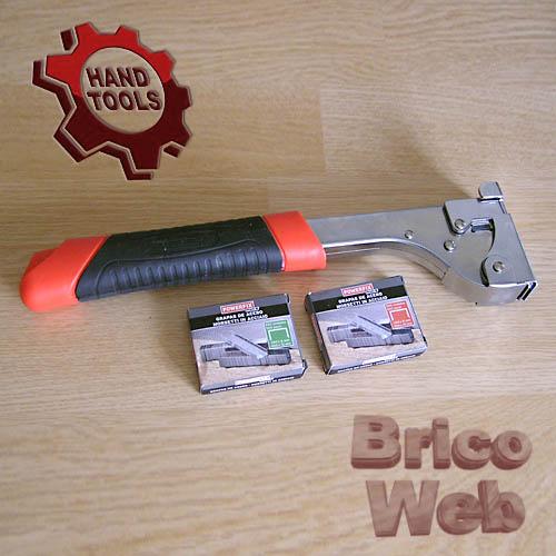 Grapadora de martillo bricoweb - Grapadora de mano ...