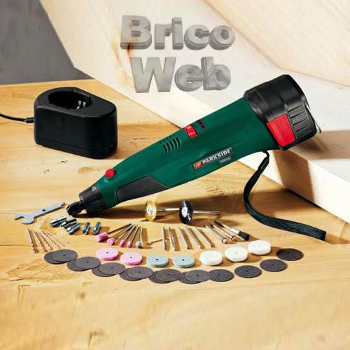Taladradora lijadora recargable de precision bricoweb - Lijadora para taladro ...