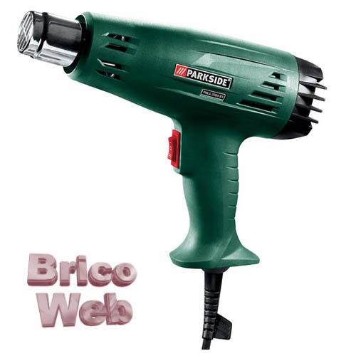 Pistola decapadora aire caliente bricoweb for Pistola pneumatica parkside