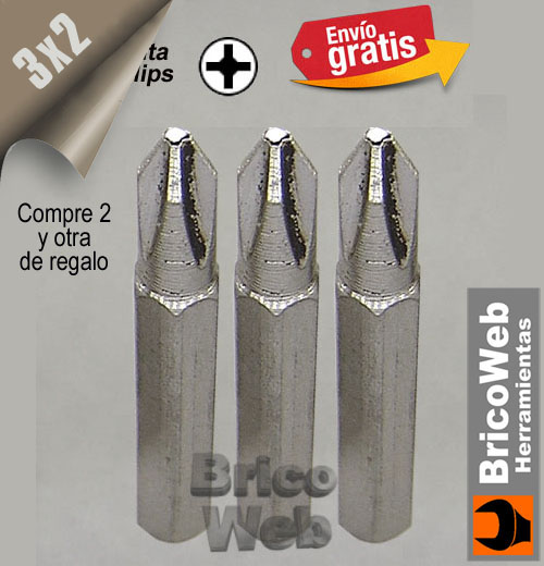 PUNTA DESTORNILLADOR PRECISION PHILLIPS PH-35