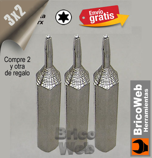 PUNTA DESTORNILLADOR PRECISION TORX TO-12