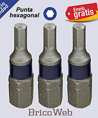 PUNTAS HEXAGONAL