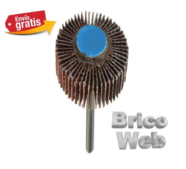 Accesorios lijar pulir bricoweb - Lija para taladro ...
