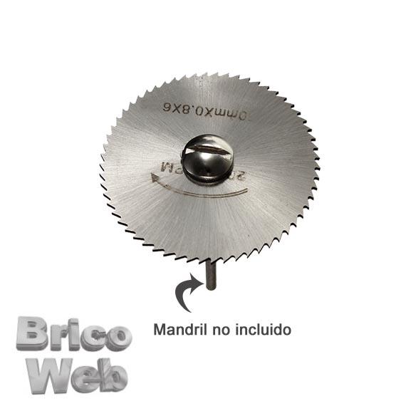 Sierra de disco para mini taladro 22mm bricoweb - Sierra circular pequena ...