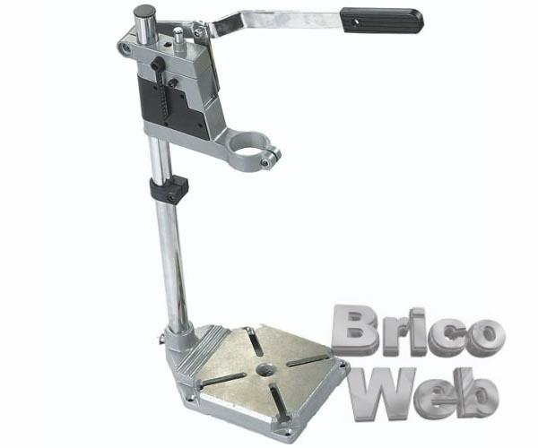Soporte vertical desmontable para taladro bricoweb - Soporte para taladro ...